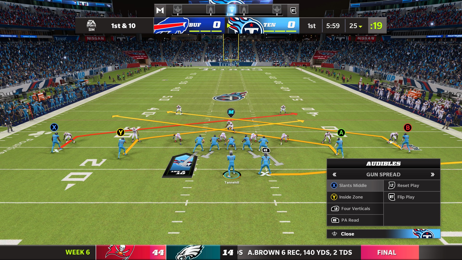 calling audibles in madden nfl 22