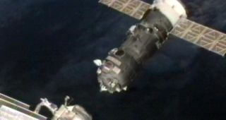 The unmanned Russian supply ship Progress 47 failed to re-dock at the International Space Station during a docking system test on July 23, 2012.