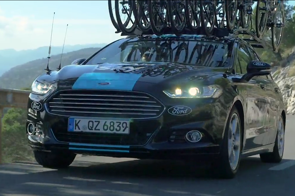 Team Sky Replace Jaguar XF With Ford Mondeo For 2016 Season