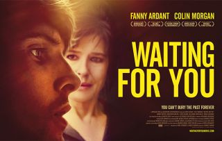 Waiting for You - Poster Colin Morgan Fanny Ardant