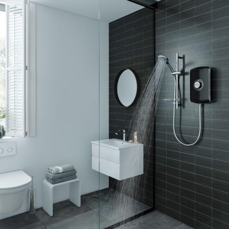 Best low pressure shower head: Triton Showers