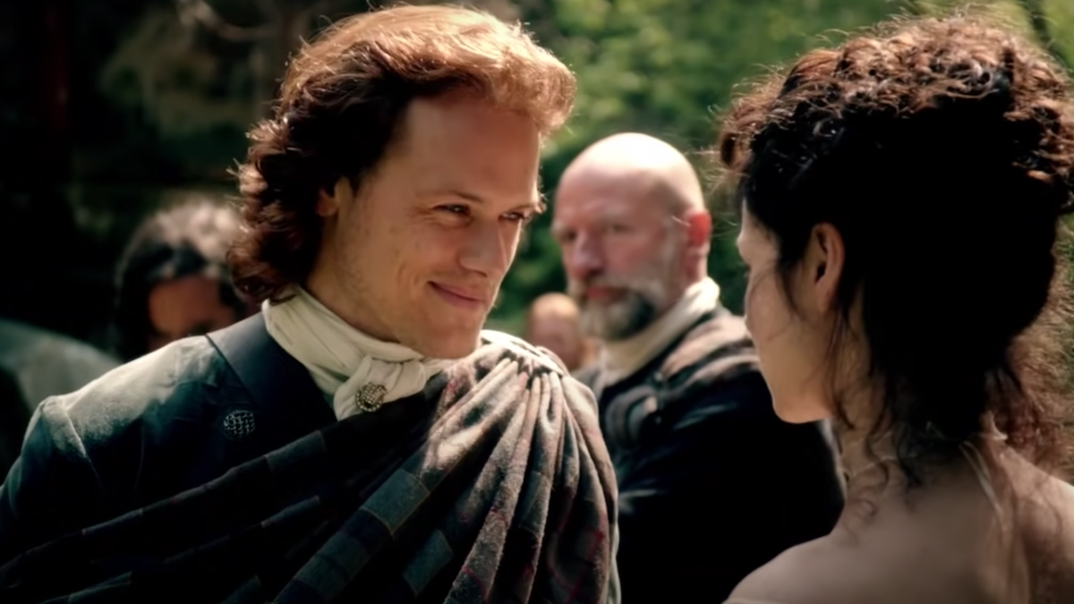 Outlander's Sam Heughan Has A Whisky Truck With His Face On It, And Graham McTavish Had The Perfect Response