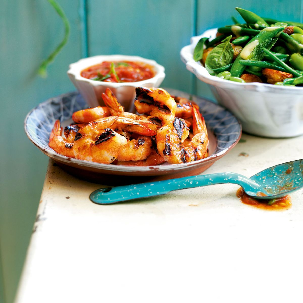 This Middle Eastern spiced prawns with cherry tomatoes makes the perfect starter