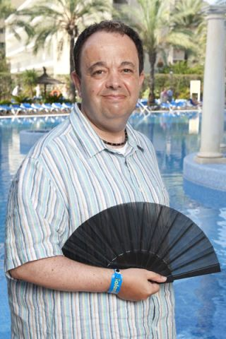 A quick chat with Benidorm's Hugh Sachs
