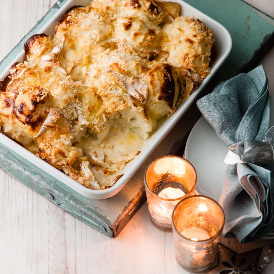 Cauliflower Cheese with Camembert Recipe