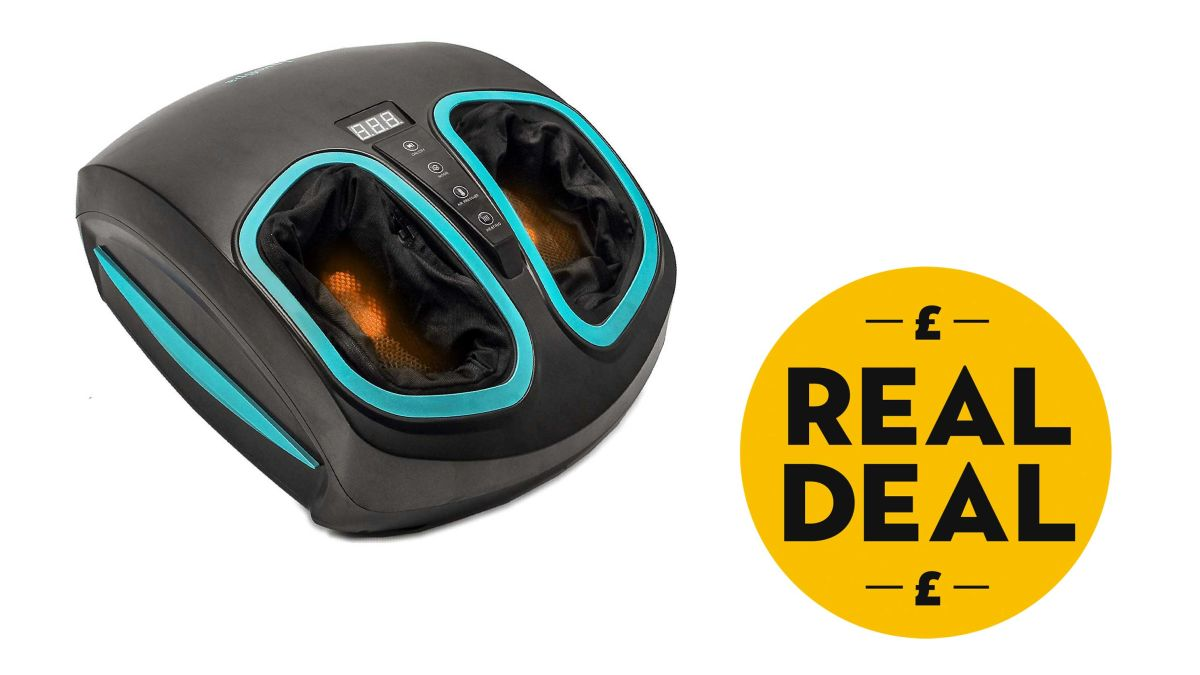 This foot massager machine has 70% off ♀️