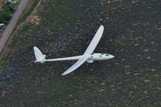 Perlan 2 glider test flight