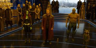 Guardians of the Galaxy Vol 2. < Guardians standing around
