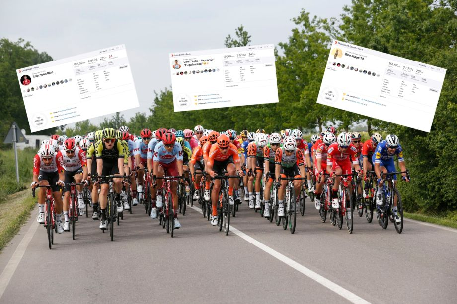 Strava stats reveal if stage 10 of the Giro d'Italia 2019 really was that easy