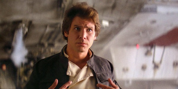 Han Solo in The Empire Strikes Back