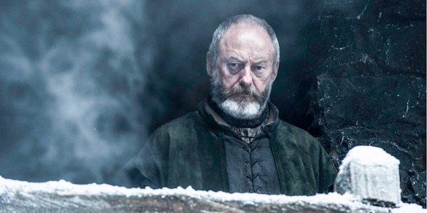 Ser Davos on Winterfell