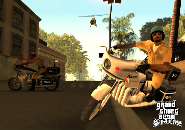 GTA San Andreas Coming To Mobile Devices #29850