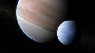 Exoplanet Kepler-1625b and Candidate Exomoon