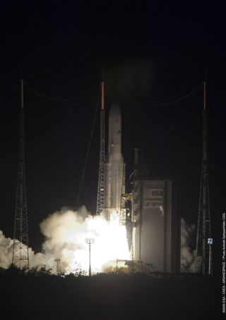 Ariane 5 Rocket Successfully Lofts Satellite Pair