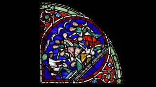 In a stained glass window panel in Canterbury Cathedral, Eilward of Westoning is castrated and blinded for stealing to pay off his debts. Thomas Becket then appeared to Eilward in a vision and healed his wounds, regenerating what Eilward had lost.