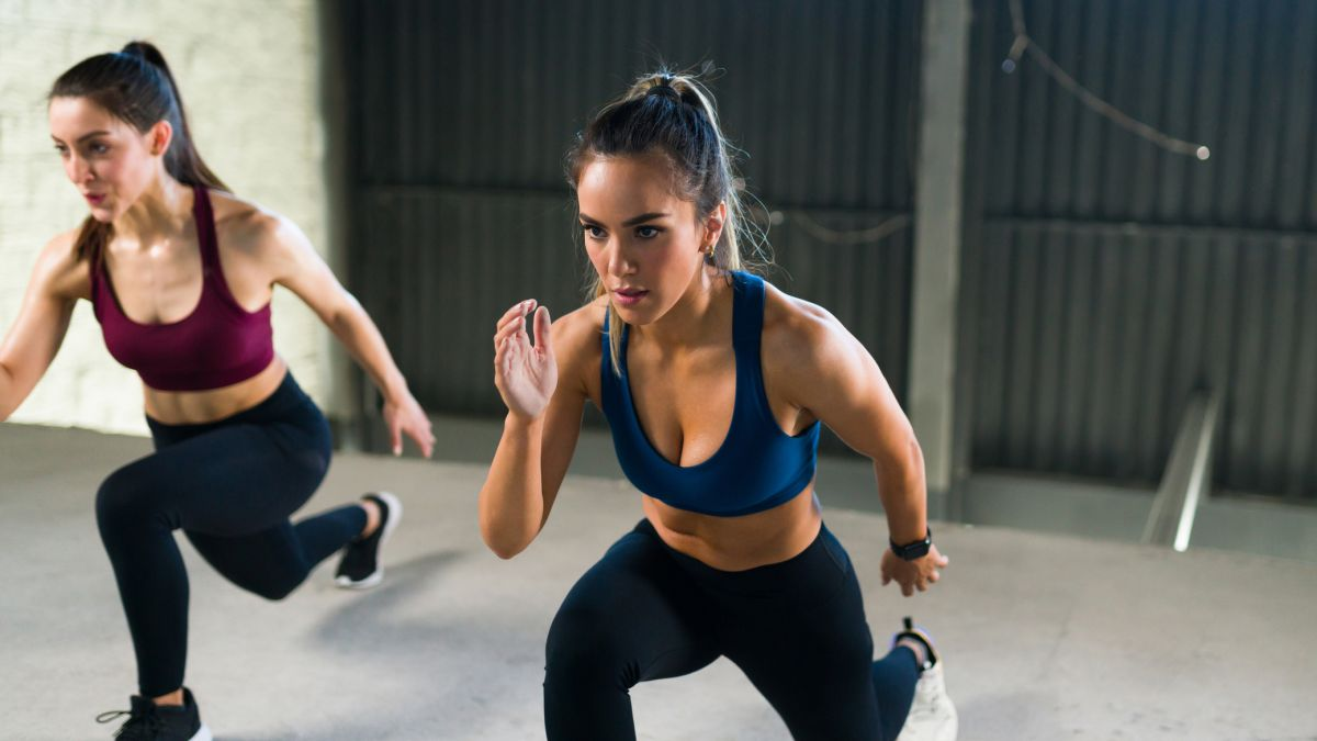 TikToker enlists her mom to demo easy vs advanced HIIT exercises – and it's brilliant
