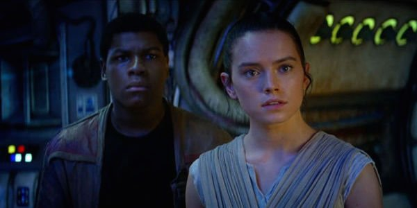 Finn and Rey Star Wars: The Last Jedi