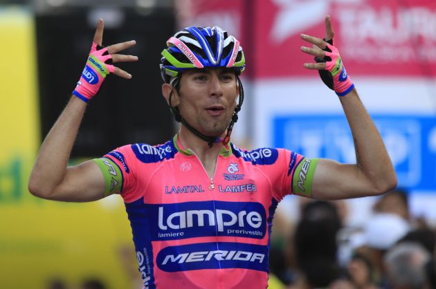 Diego Ulissi wins Tour of Poland 2013 stage one