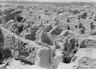 ruins of babylon as seen in 1932