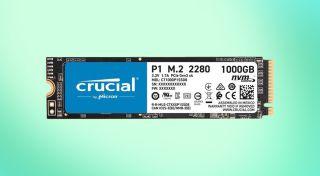 Crucial P1 Internal SSD