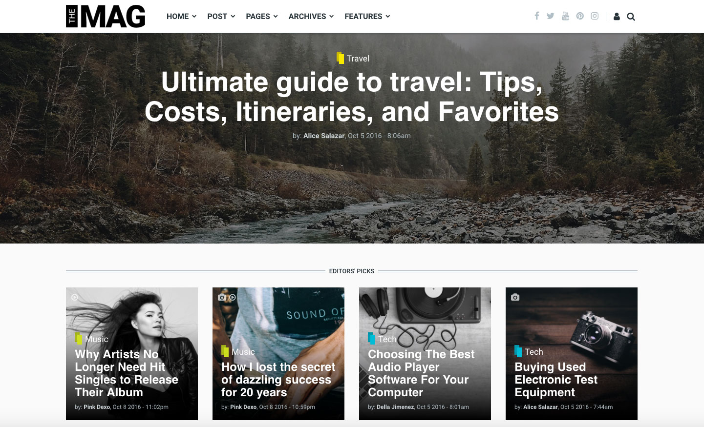 Drupal theme: TheMAG