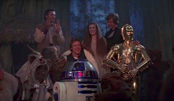 Return of the Jedi Endor celebration