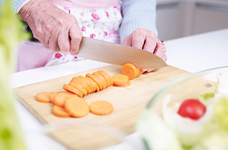 elderly, healthy food, diet