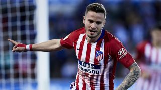 Saul Niguez Manchester United City