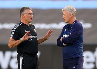 Nigel Pearson and David Moyes