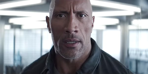 Dwayne Johnson The Rock in Hobbs and Shaw trailer