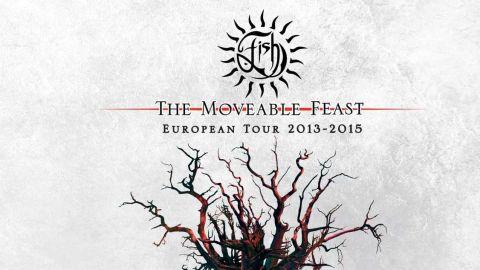 Fish - The Moveable Feast: European Tour 2013-2015 album artwork