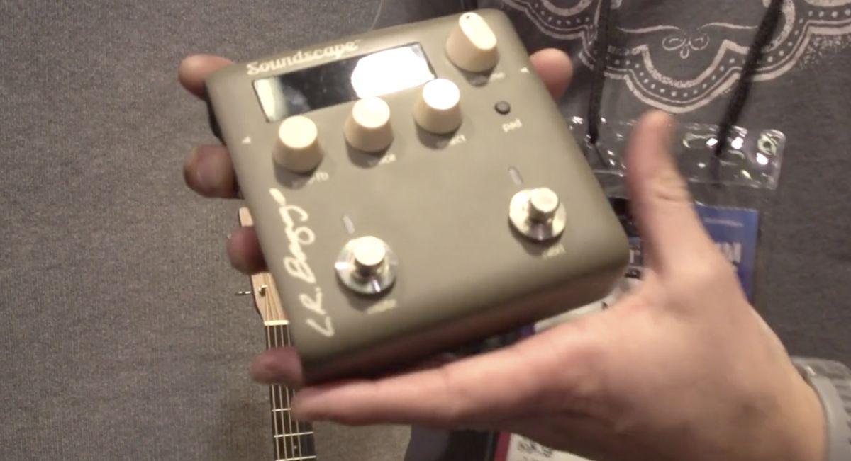 GW live at NAMM 2020: See LR Baggs' advanced new Soundscape acoustic guitar pedal up close