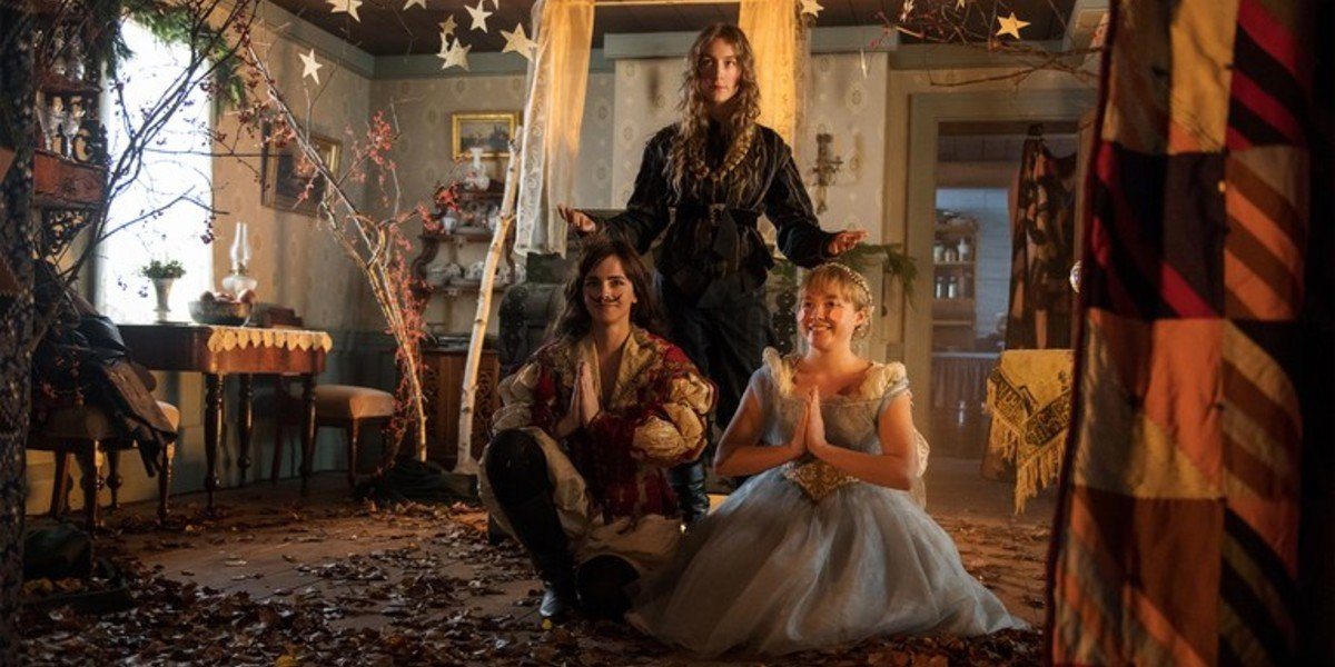Emma Watson, Saoirse Ronan, Florence Pugh - Little Women (2019)