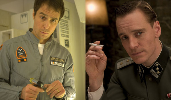 Rockwell and Fassbender