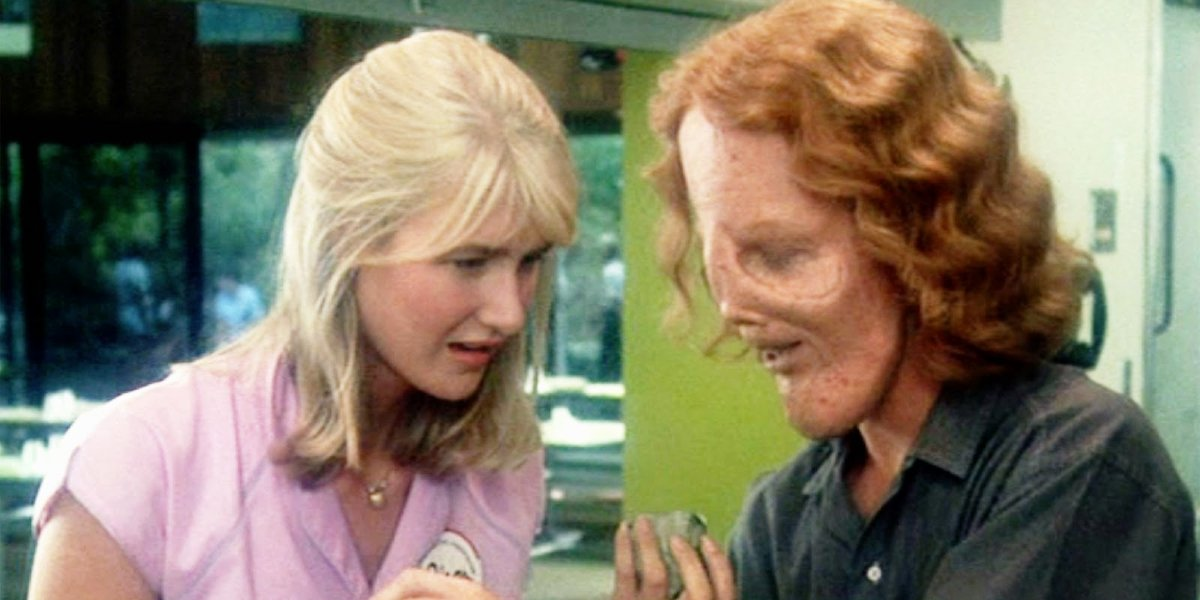 Laura Dern and Eric Stoltz in Mask