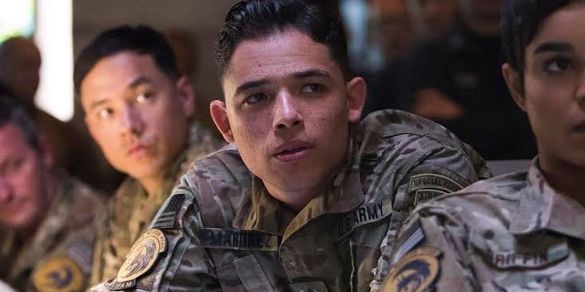 Anthony Ramos in Godzilla: King of the Monsters