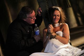Hollyoaks' bride Mercedes kidnapped by Silas