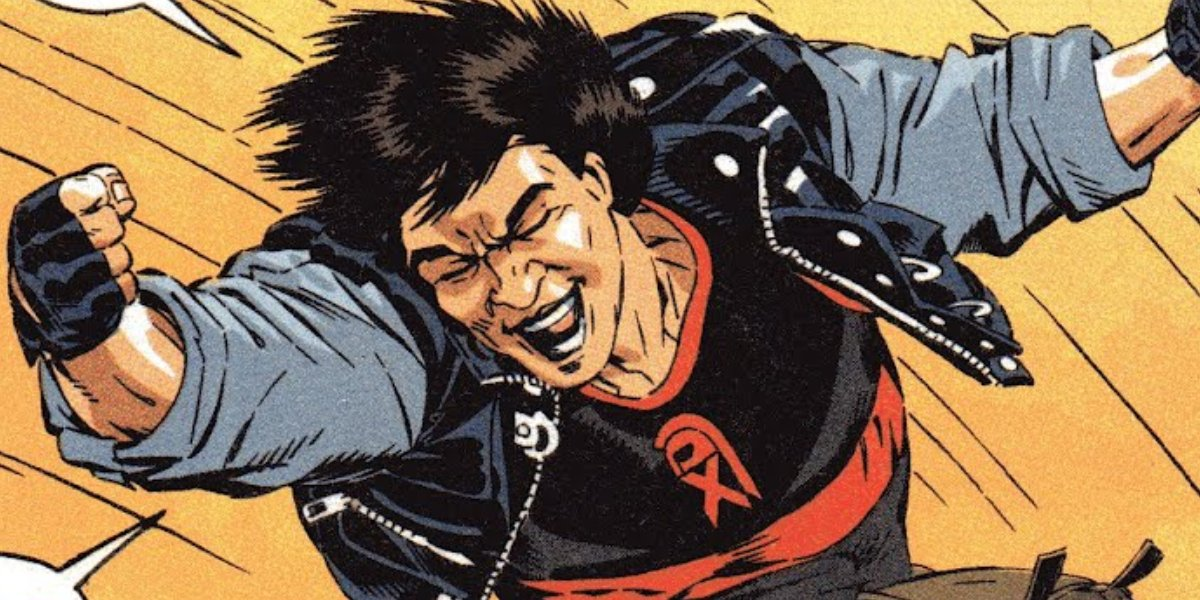 Jackie Chan's comic book alter ego from Spartan X