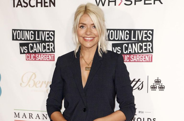 holly willoughby other stories polka dot midi dress winter version
