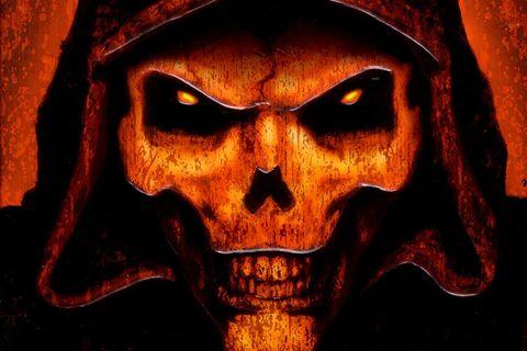 Diablo II skeleton box art