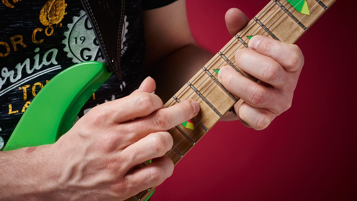 30-day guitar challenge, day 29: Combine string bending and tapping for slick guitar solos