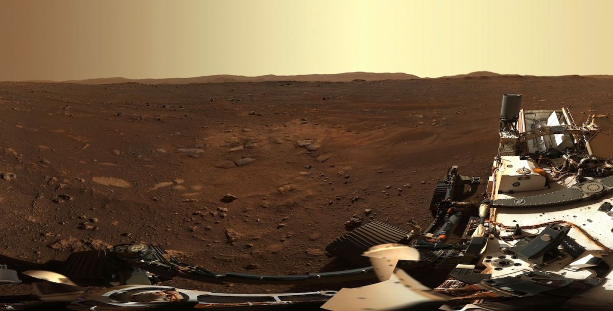 Perseverance rover snaps gorgeous HD panorama of Mars landing site