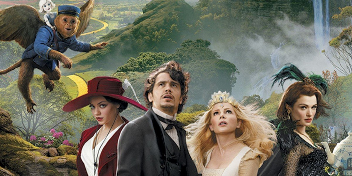 The Poster For Oz the Great and Powerful