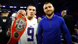 Top Rank Boxing presents Teofimo Lopez and Vasiliy Lomachenko in ring together