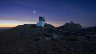 The Vera C. Rubin Observatory, formerly known as the Large Synoptic Survey Telescope (LSST), is currently under construction on Cerro Pachón in Chile.