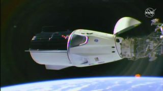 SpaceX's Crew Dragon Docks at Space Station for First Time