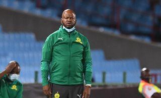 Manqoba Mngqithi Head coach of Mamelodi Sundowns