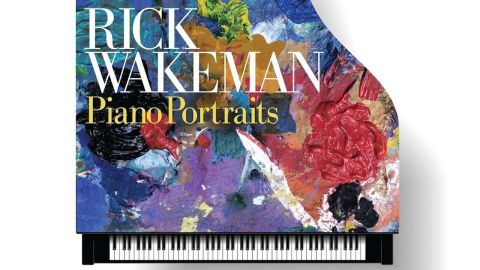 Rick Wakeman Piano Portraits album cover