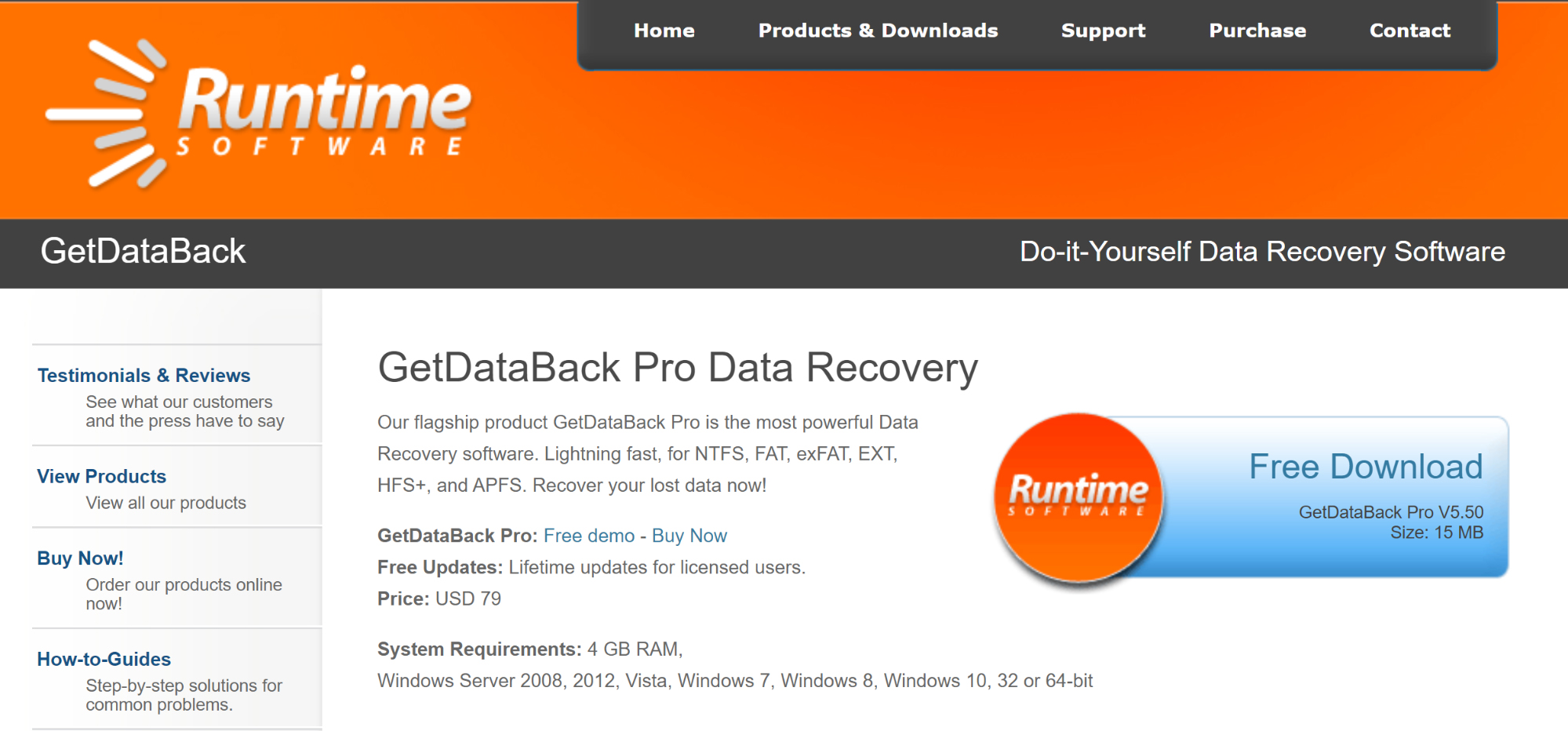 GetDataBack Data Recovery Pro 5.55 Crack