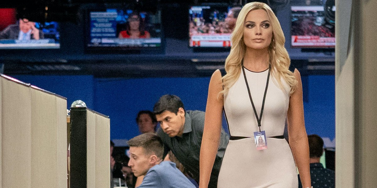 Margot Robbie at Fox News in Bombshell